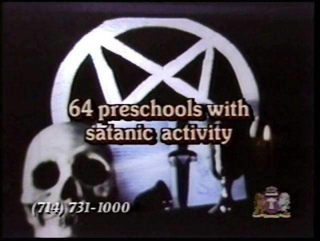 64 preschools with satanic activity